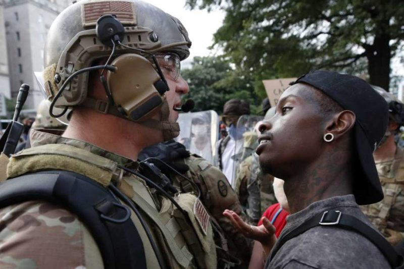 Here We Go Again: 'Anonymous' National Guard Officer At Lafayette Square Calls Trump A Liar, 'What I Just Saw Goes Against My Oath.'