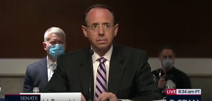 Watch: Rod Rosenstein is Either The Most Corrupt Lawyer to Serve His Country Or A Moron