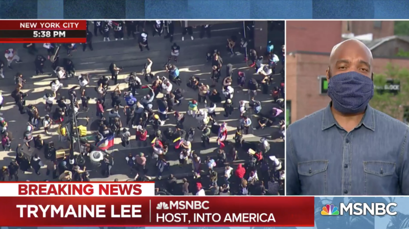 OOPS, MSNBC Go Off Script & Accidentally Admits Who's Behind Violent Riots (VIDEO)