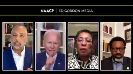 Watch: Biden Does Not Take Criticism Well, Melts Down During NAACP Panel Discussion