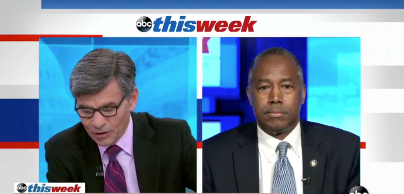 Watch: Carson Tell's ABC's Stephanopoulos 'Stop Being Ridiculous' And 'Grow Up'