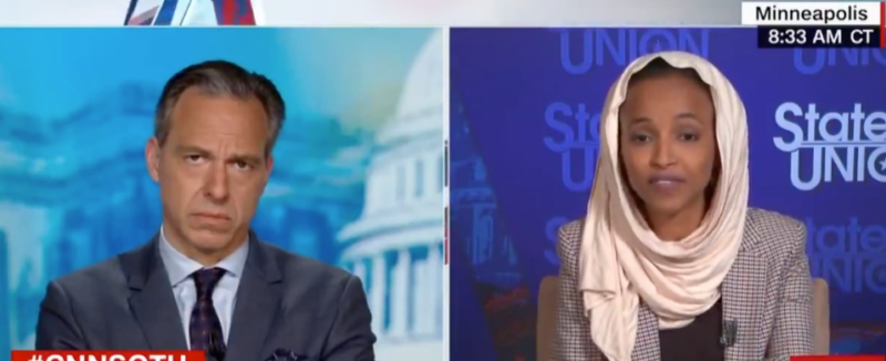 What A Clown: Rep. Omar Flops When Asked About Plan To Disband Police (VIDEO)