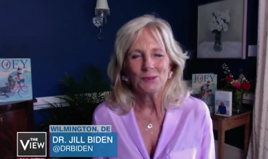 Watch: Jill Biden Been In The Bunker Too Long, Tells A Blatant Lie About 'Disillusioned' Trump Supporters