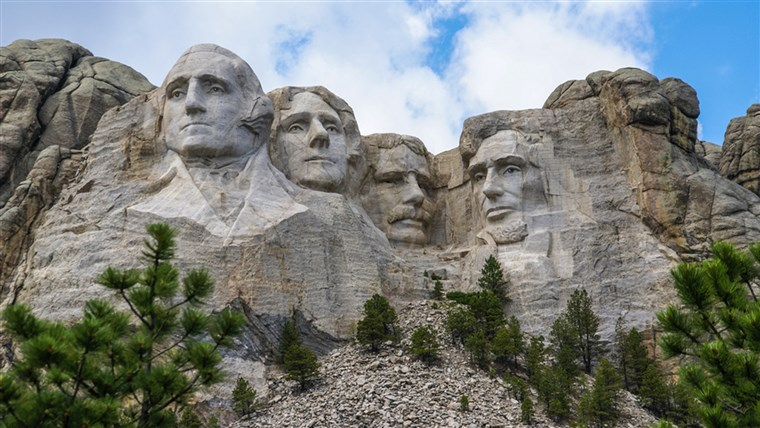 Democrat Party Targets Mount Rushmore Says 4th of July Celebration Celebrates 'White Supremacy'