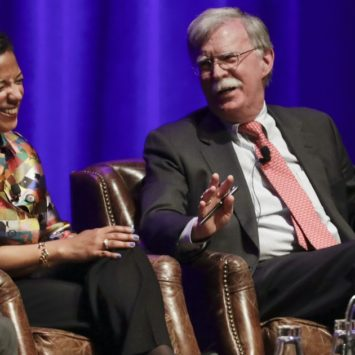 And Just Like That Susan Rice And John Bolton Are Best Friends (VIDEO)