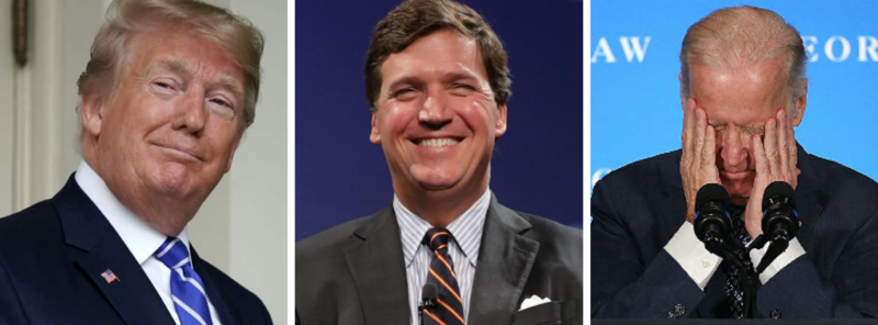 The Biden Campaign Just Gave Tucker Carlson and Pres Trump A Huge Gift