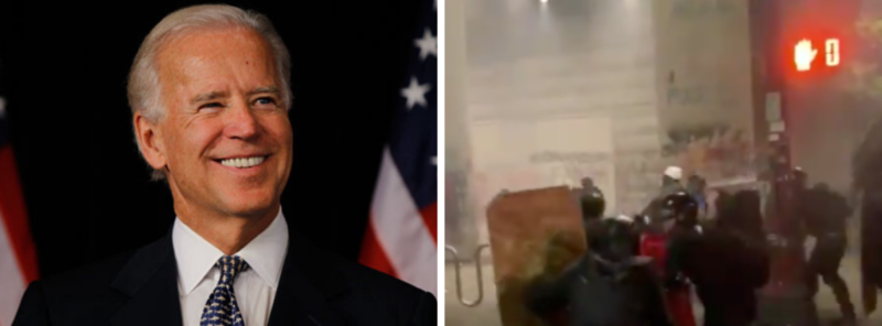 Outrageous! Biden Goes Full AOC In Statement About Federal Officers In Portland…He Thinks We Are Stupid