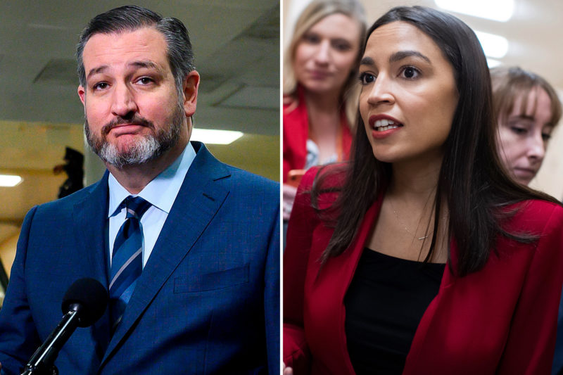 Senator Ted Cruz Silences AOC, Refuses To Answer 5 Simple Questions