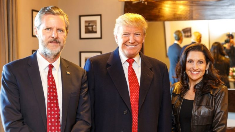 Good Grief! The Left Is Now Trying To Tie Trump Into the Jerry Falwell Jr. Scandal…A Tangled Mess Of Fake News