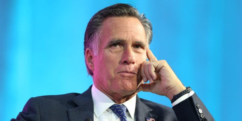 Romney Is At It Again: Trying To Thwart Senate Investigation Into FBI…He's Protecting Biden