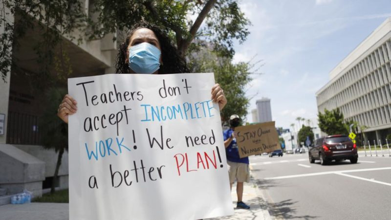 Teachers Unions Issue Crazy Demands Or They Aren't Working After Aligning With The Democratic Socialist of America