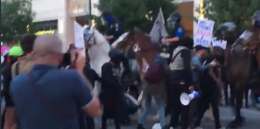 Watch: Antifa Just Learned The Hard Way Don't Mess With Texas