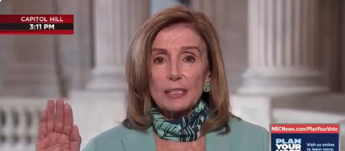 Watch: GOP Congressmen Have Some Words For Pelosi After Dangerous Her Lip Quivering Meltdown