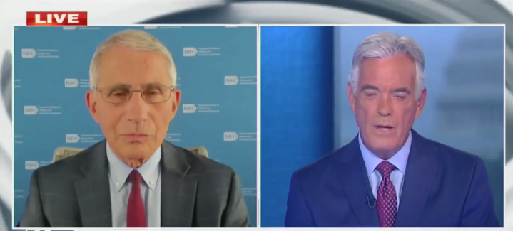 Watch: Dr. Fauci Just Shredded Woodward's COVID Claims About The President