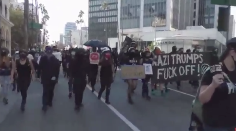 Watch: Antifa Targets Trump Supporters Showing Their Love For The President After COVID Diagnosis