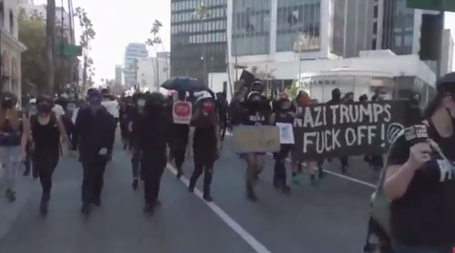 Despicable: Watch As Antifa Targeting Trump Supporters Showing Support For The President After COVID Diagnosis