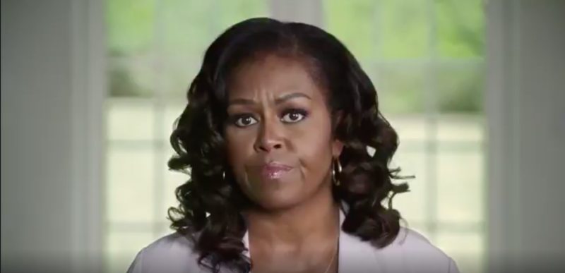Watch: Michelle Obama Uses White Guilt To Shame Undecided Voters, 'Think About All Those Folks Like…