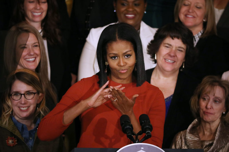 Michelle Obama Makes It Personal Goes After Trump Voters Who Support 'Chaos, Hate, And…