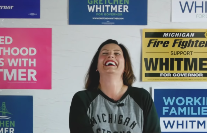 Liberals Can't Stop Giving Tyrant Democrat Governors Awards, Her Highness Whitmer Is Up For Person Of The Year