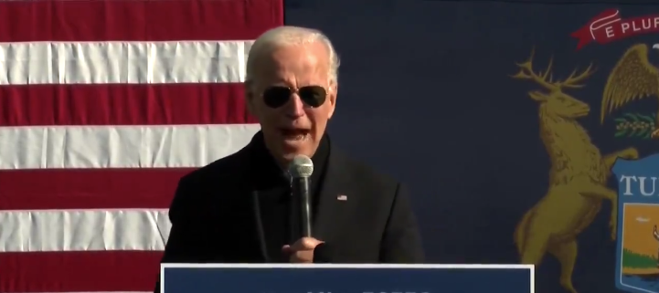 Watch: Biden Comes Clean And Admits Day 1 He's Going To Violate The Constitution