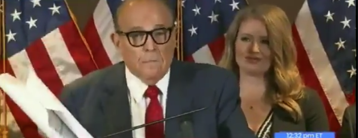 UPDATE: Dems Are SHOOK After Rudy's Latest Announcement About Alleged Voter Fraud…It's Started To Sink In Trump Might Win