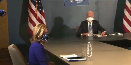 Watch: Reporter Gets Escorted Out Of Room After Question Causes Biden To Fold Like A Deck Of Cards