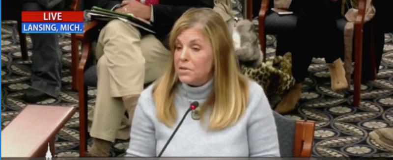 VIDEO: Brave Michigan Whistleblower Drops A BOMBSHELL During Official Committee Hearing About Shady Ballots
