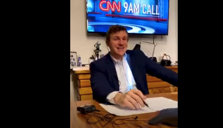 PURE GOLD: Watch The Moment Conservative Journalist Informs CNN Head Jeff Zucker They Been Listening To Their Morning Conference Calls For Two Months