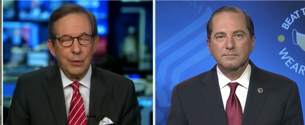 Watch: Fox New's Christopher Wallace Loses His Marbles! Rants Like A Mad Man Then Orders Trump Official To Refer To Biden Correctly