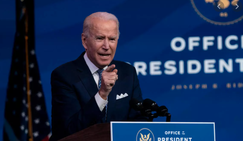 Biden Dumps On The American People To Land A Low Blow On Trump Over COVID Bill