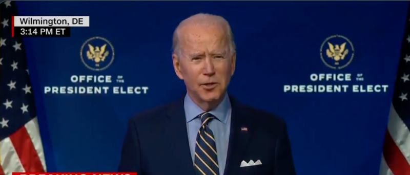 Watch: Biden's Dark America, Claims Lockdowns Could Happen For The Next Two Years If He Doesn't Get What He Wants