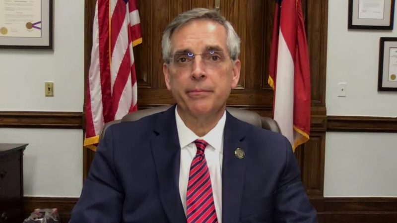 Note A Joke: Georgia Secretary Of State ADMITS Voter Fraud Occurred & Demands Change After Certifying Results & Claiming There Was No Fraud
