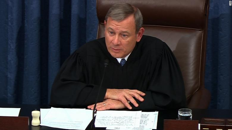 Justice Roberts Tells Dems He 'Wants No Part' Of Their Impeachment Circus