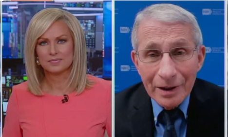 Watch: Dr. Fauci Finally Faces Some Heat, Gets Testy When Pressed Over His Recent COVID Comments, 'Let Me Finish!'