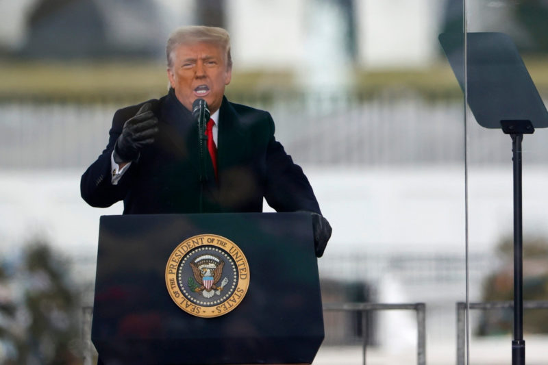 New Court Docs Just Throw A Wrench In Dems Plans To Convict Trump Over Capitol Unrest, Show He Had Nothing To Do With It