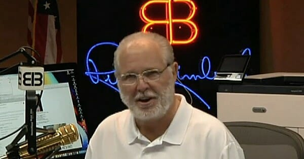 Rush Limbaugh Explains The Real Reason Why Dems Are Pushing To Remove President Trump
