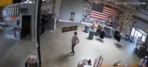 Sickening: Security Camera Catches Health Inspector Dancing After Shutting Down A Brewery (VIDEO)