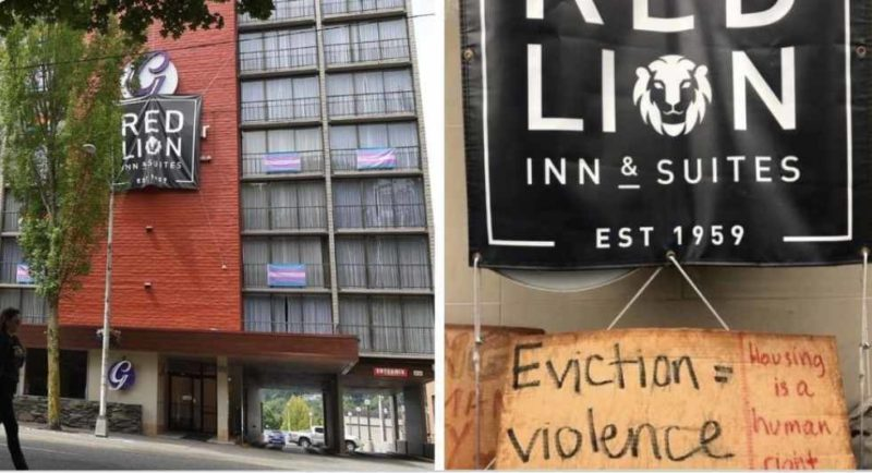 MSM Ignores Antifa Violently Takeover A Hotel