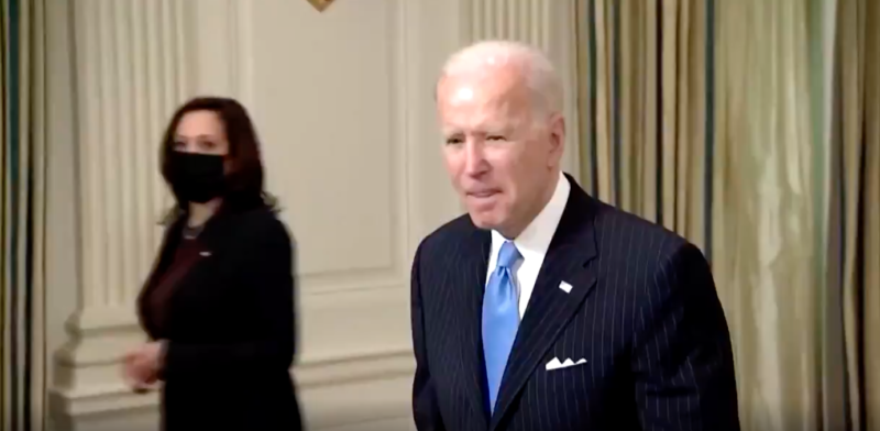 Watch: Biden's Response After Border Briefing Raises Even More Red Flags About His Cognitive Decline