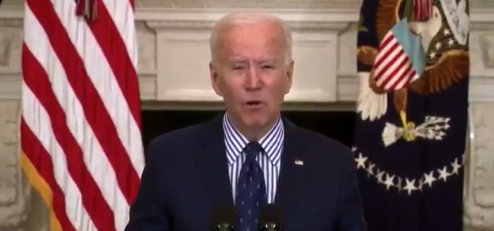 Watch: White House Handlers Finally Let Biden Speak & What Came Out Was Not Ok, Something Is Wrong