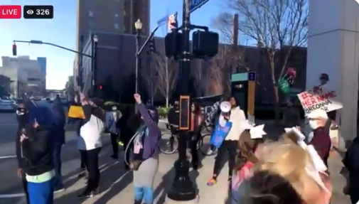 Watch: Parents Upset After Far Left Activist Confront Teenagers At Cheerleading Competition, 'The Reason Why You Get To Be Here…Is Because Of Your…