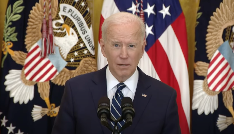 Watch: Biden Hints He'll Punish States Who Pass Election Laws He Doesn't Like & Says They Are 'Sick'