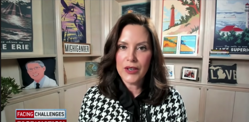 Watch: Biden's Policies Are Failing, Pay Attention To The Verbiage Change Before Whitmer Admits  'We Are Seeing A Surge In Michigan Despite…