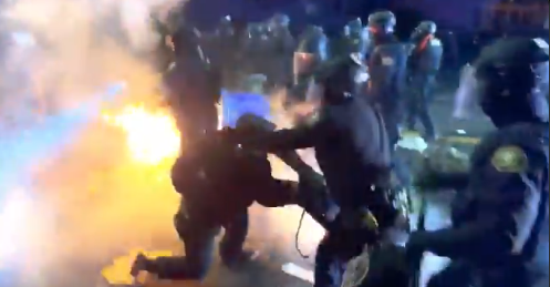 Apocalypse Now: Suburb Turns Into War Zone, More Unrest Across The Country, Biden Remains Silent (VIDEO)