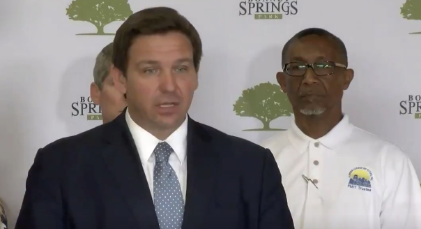 Florida Gov. Ron DeSantis Just Turned The Tables On Fauci & Has Him Cornered, 'If You Tell People The Opposite……