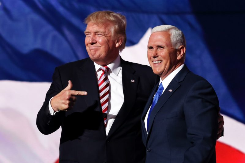 Trump and Pence Are Teaming Up Again To Take On The Democrats