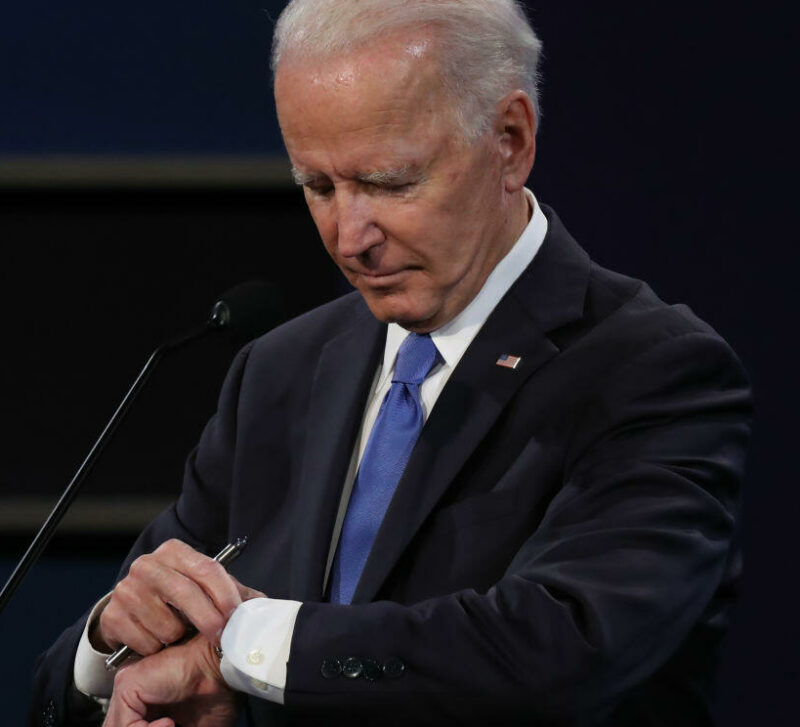 Biden The Ostrich President, As Rome Burns He's Got His Head In The Sand