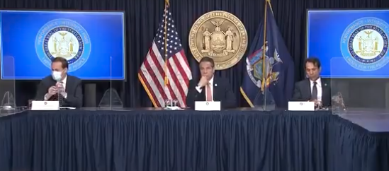 Watch: Gov. Cuomo Proudly Announces How He'll Punish Non-Vaxxers, 'You Want To Go To A…