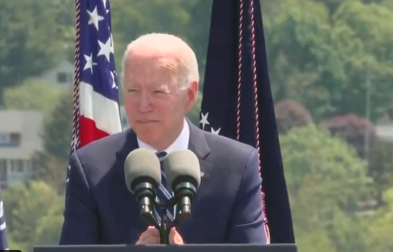 VIDEO: Biden Flips Out After Military Cadets Don't Give Him The Applause He Wants