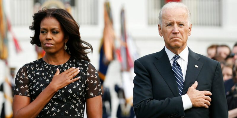 Watch: Biden & Michelle Obama Tag Team Attacking Police On The Day To Remember Fallen Officers